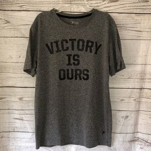 Old Navy Active Victory Is Ours gray T-shirt